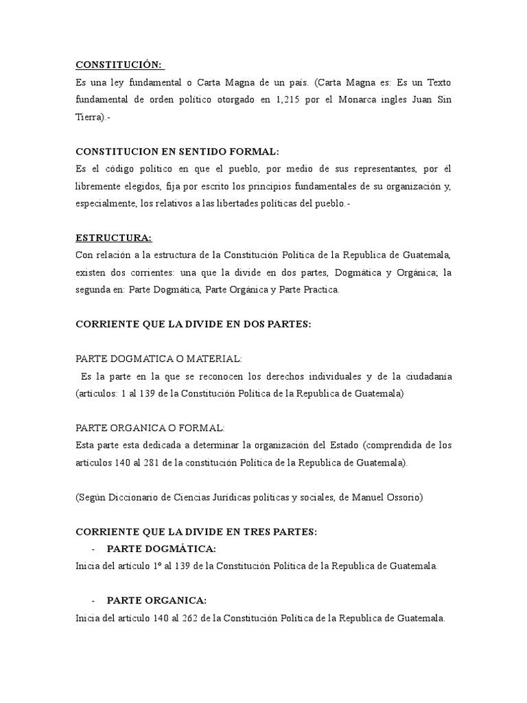 Constitucion Constitución Derechos