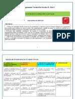 Plano Actividades 2010-11BE
