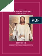 Lección 3 - Quinto Domingo - Peru