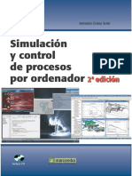 Simulación y Control de Procesos Por Ordenador (2a. Ed.)-Unlocked