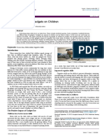 The Impact of Using Gadgets on Children 2167 1044 1000296