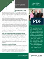 ERP Software RFP Outline