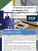 Propostas de Governo de Ciro Gomes