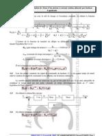 Correction régulation de vitesse d'une mcc à courant dc