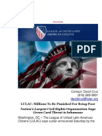 Domingo Garcia - LULAC Millions To Be Punished For Being Poor.pdf