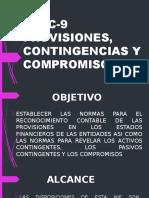 Nif C-9 Provisiones, Contingencias y Compromisos