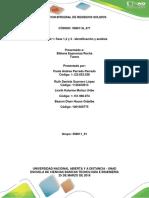 Fase 1, 2 y 3 - Identificación y análisis