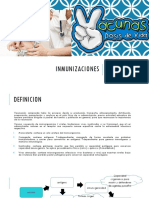 Inmunizaciones Exposición