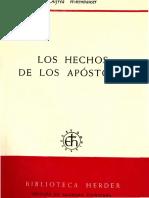 Wikenhauser, Alfred - Los Hechos de Los Apostoles Biblioteca Sem