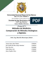 Grupo 07 - Metodos de Medicion