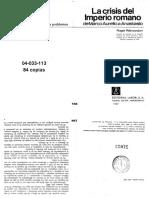04033113 - Rémondon - La Crisis del Imperio Romano (Parte 1).pdf