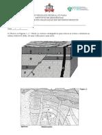 Exercício de Fixação - Estratigrafia