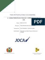 2. Caracteristicas Fisicas y Operativas de La Via
