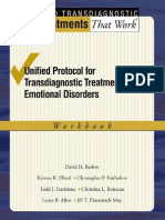 David H. Barlow, Kristen K. Ellard, Christopher P. Fairholme, Todd J. Farchione, Christina L. Boisseau, Jill T. Ehrenreich May, Laura B. Allen Unified Protocol for Transdiagnostic Treatment of Emotional Disorders Workb