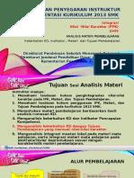 b2.2 Materi Tayang Analisis IPK-Tujuan-Materi Pemblj-Int PPK syahril.pptx