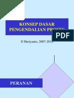 Kul_01 dan 02 Pendahuluan & Prinsip Pengendalian Proses (Rev-2 2018).ppt