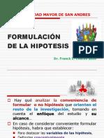 Tema Nº 3 Formulación de La Hipotesis