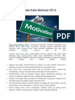 Kumpulan Kata Kata Motivasi 2012.docx