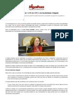 CPC_15_ Para Nancy, Rol Do 1.015 Do CPC é de Taxatividade Mitigada - Migalhas Quentes