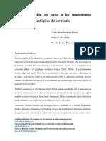 FUNDAMENTOS PSICOLOGICOS CURRICULO