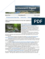 Pa Environment Digest Oct. 1, 2018
