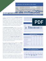 Reporte de Inflacion Setiembre 2018 Sintesis