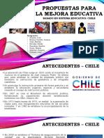 Propuesta Para La Mejora Educativa CHILE Pre Final