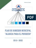 Jaime Salinas - Alianza Para El Progreso - Plan de Gobierno - Elecciones 2018