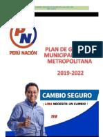 Enrique Ocrospoma - Perú Nación - Plan de Gobierno - Elecciones 2018