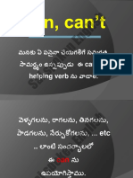 Can, Can't in Telugu11