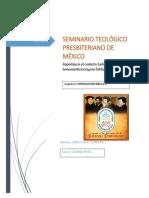 Importancia El Contexto Histórico en La Hermenéutica Exégesis Bíblica.