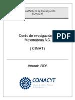 ANUARIO CIMAT 2006