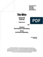 The Wire 1x09 - Game Day