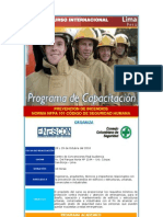 Programa Del Curso NFPA 101