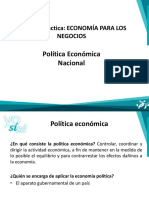 Sise Politicia Economica Nacional