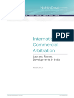 International_Commercial_Arbitration Nishit Desai Highlighted
