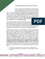 Follow Fibonacci Ratio Dynamic Approach in Trade