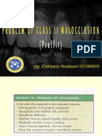 problem of class ii malocclusion drg pam.ppt