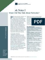 Network Notes 1 e