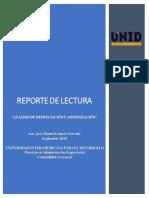 Reporte de Lectura Unidad 4