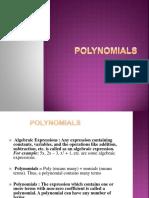 Polynomials PPT