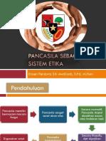 Pancasila Sebagai Sistem Etika