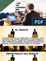 El Debate Los Cogigos de Comunicacion y Silogismo