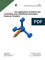 SolidWorks Simulation Student Guide FRA