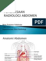 Radiologi Abdomen