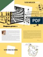 Programma Della Stagione Di Prosa Del Teatro Morlacchi Di Perugia 2018 2019