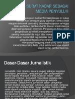 Peranan Surat Kabar Sebagai Media Penyuluh (Materi Untung Bachtiar)