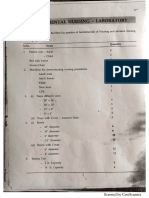 Neet - Lab List - Fundamentals of Nursing