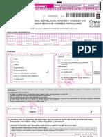 CENSO 2010 - Cuestionario básico de viviendas particulares