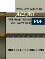 Drugs Affecting Cns